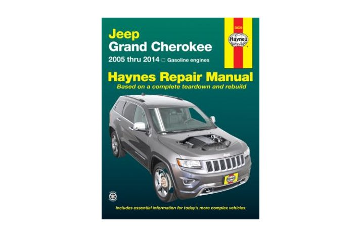 Workshop manual Jeep Grand Cherokee 2005-2014