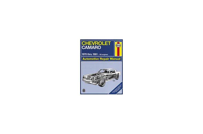 Workshop manual Camaro 1970-81