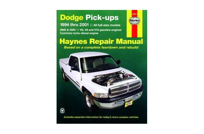 Workshop manual Dodge Full-size PU 94-02