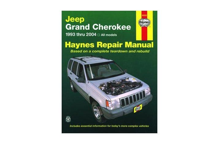 Workshop manual Jeep Grand Cherokee 1993-2004