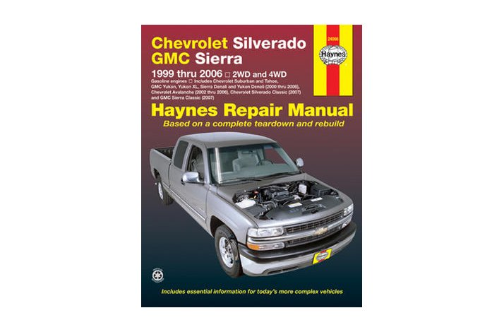 Workshop manual Chev FS Truck 1999-2006