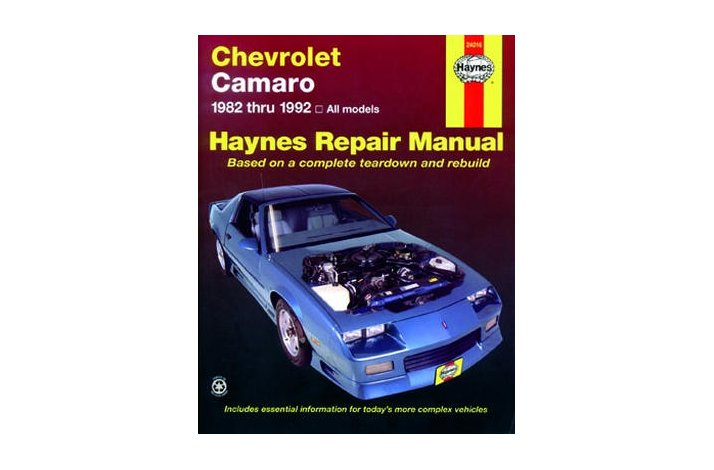 Workshop manual Camaro 1982-92