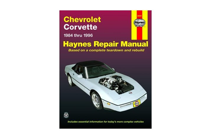 Workshop manual Corvette 1984-96