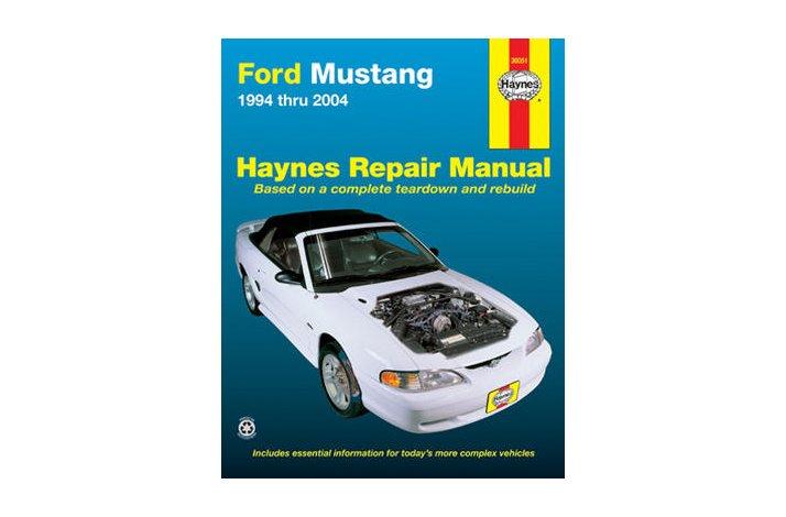 Workshop manual Mustang 1994-2004