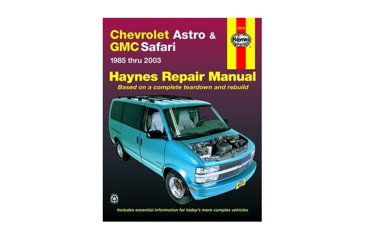 Workshop manual Astro 1985-05