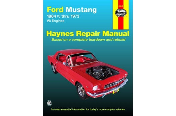 Service & Repair Manuals Formula Restoration Rebuild Repair Manual ...