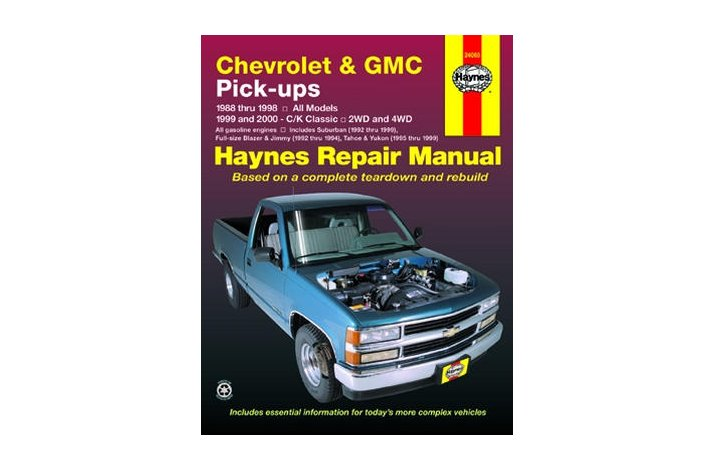 Workshop manual Chev FS Truck 1988-99