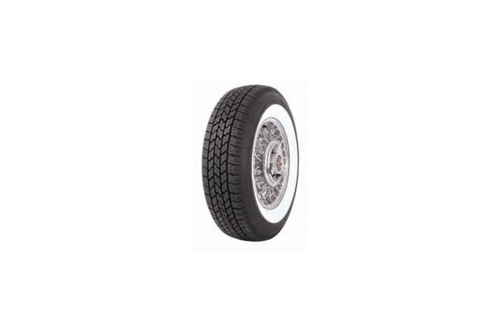 Coker P225/75R15 2 3/4'' Whitewall