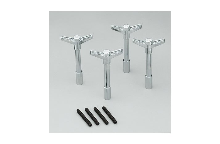 Wing nuts Bowtie Chrome