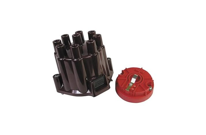MSD fordelerdæksel + rotor