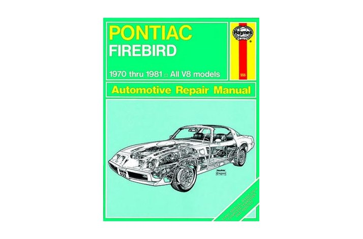 Workshop manual Firebird T/A 1970-81