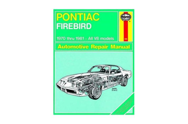 Workshop manual Firebird T/A 1970-81